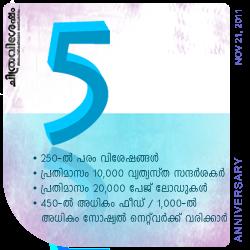 Chithravishesham: 5th Anniversary