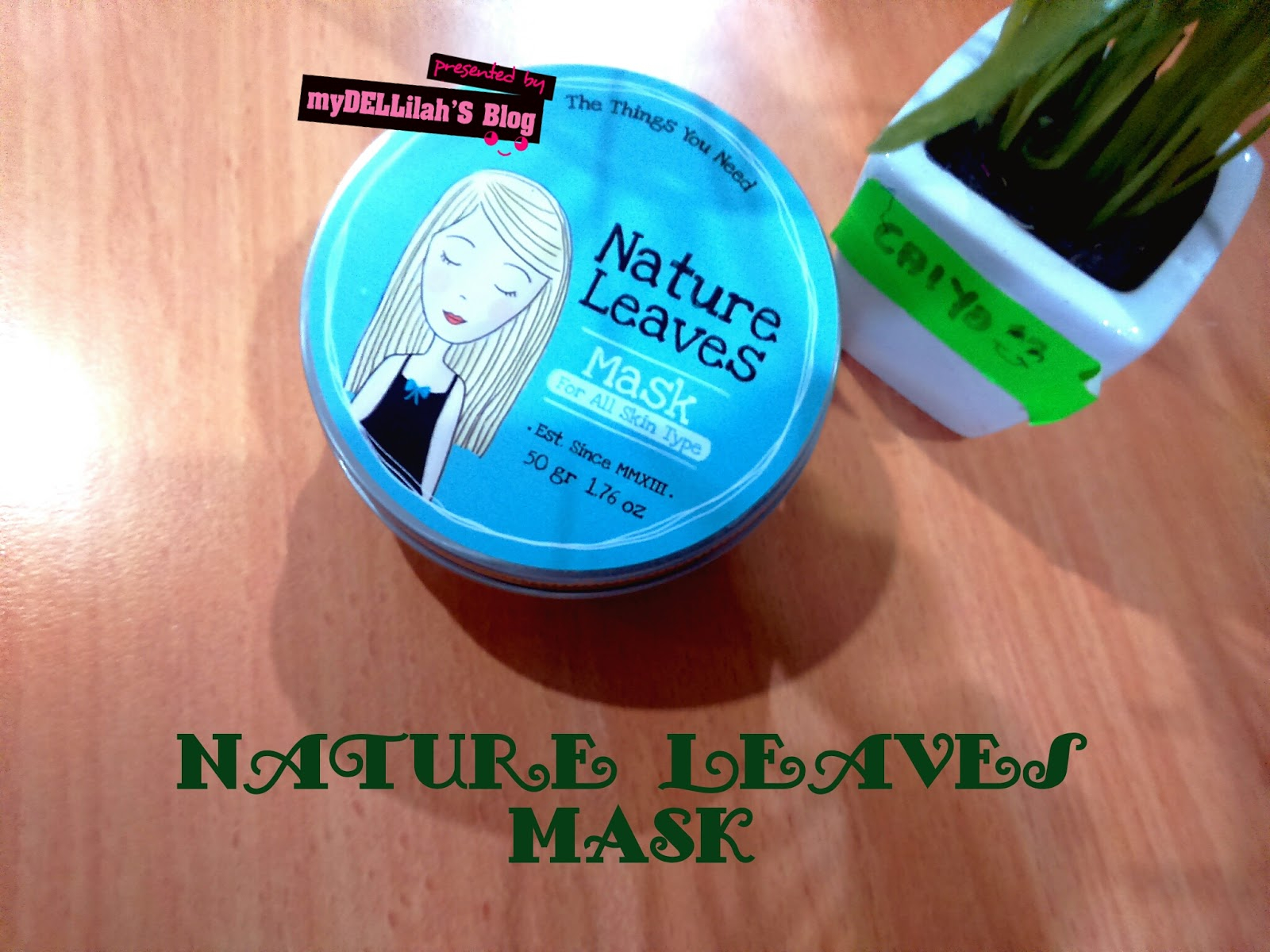 masker bubuk Nature Leaves