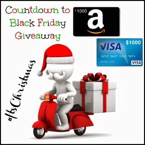 $1000 Countdown to Black Friday Giveaway