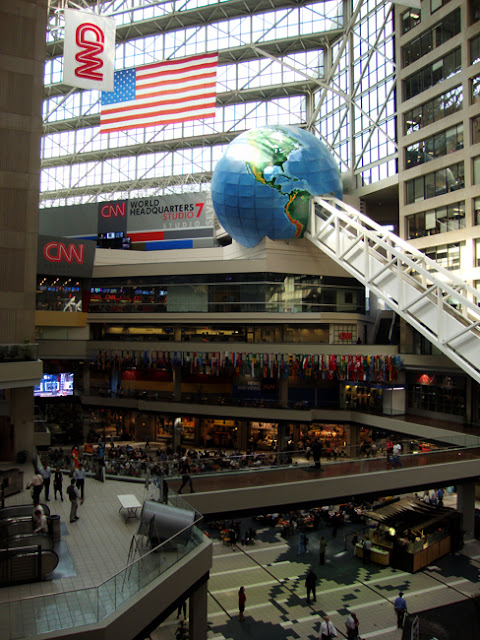 Inside CNN Studio Tour, CNN Headquarters