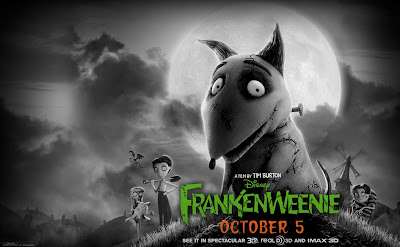 Frankenweenie movie directed by Tim Burton
