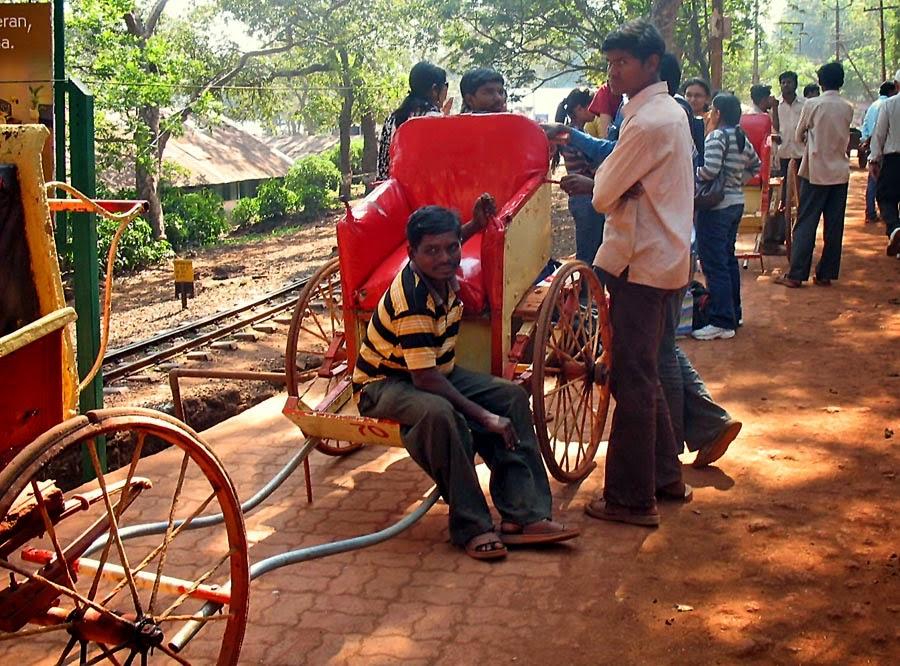 Hand Rickshaw pullers