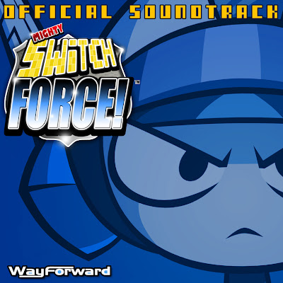 Mighty Switch Force OST Soundtrack Cover