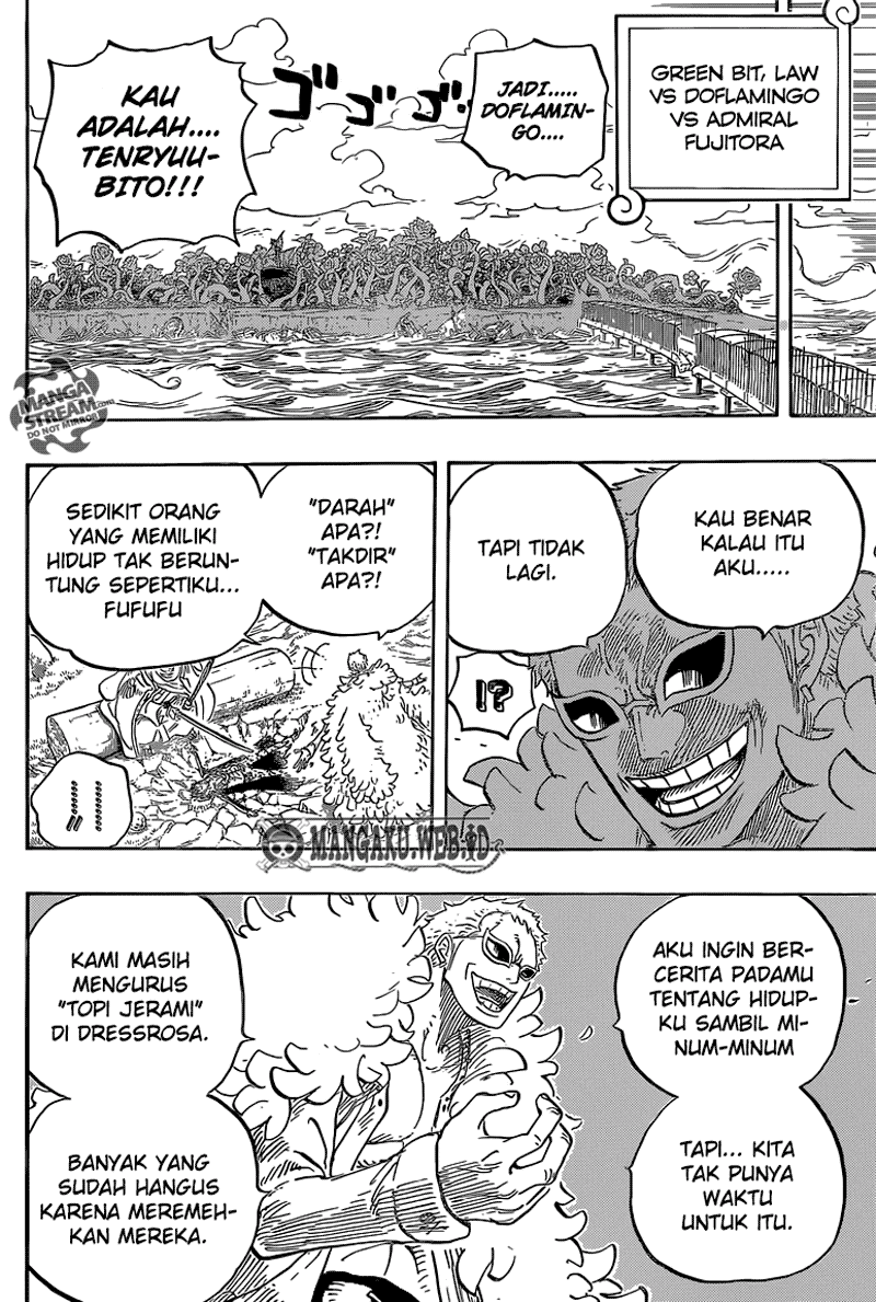 Baca Komik One Piece Chapter 723 724 Bahasa indonesia - English by