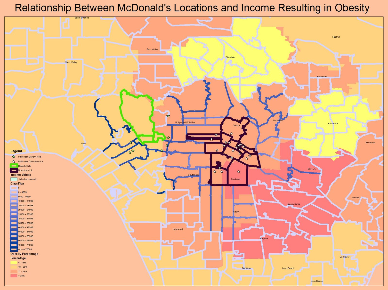 for this map i have combined all the maps to create a comparison of obesity median household income and the mcdonalds locations