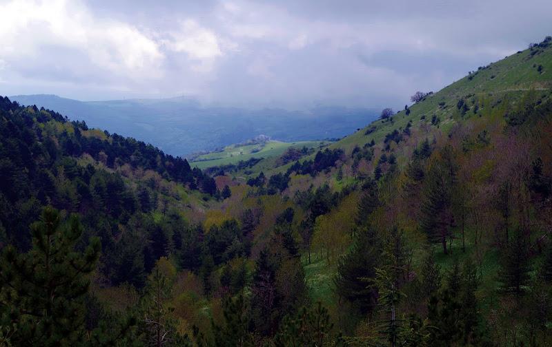 Berge, Wald und Wolken - stimmungsvoll in den Monti Dauni