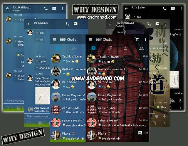 BBM Mod GoRankPathTooth v2.9.0.45 Tema Transparant