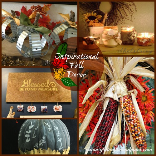 Inspirational Fall Decor, MyLove2Create