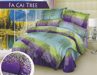Sprei Love Story Fa Cai Tree