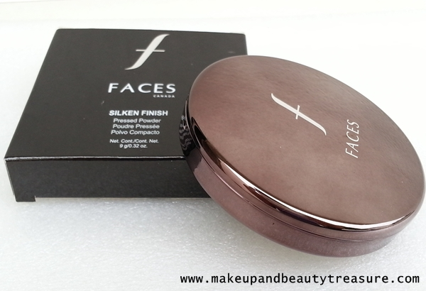 Faces Canada Silken Finish Pressed Powder Review & Swatches