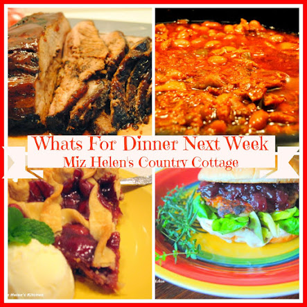 Whats For Dinner Next Week 1-22-17 to 1-28-17