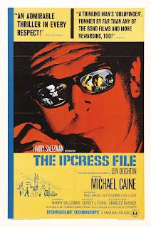 Amerikansk poster for The Ipcress File (1966)
