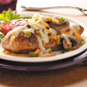 Gina's Italian Kitchen: Fiesta Smothered Chicken