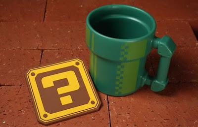 Imagen de una taza - tubería de Mario
