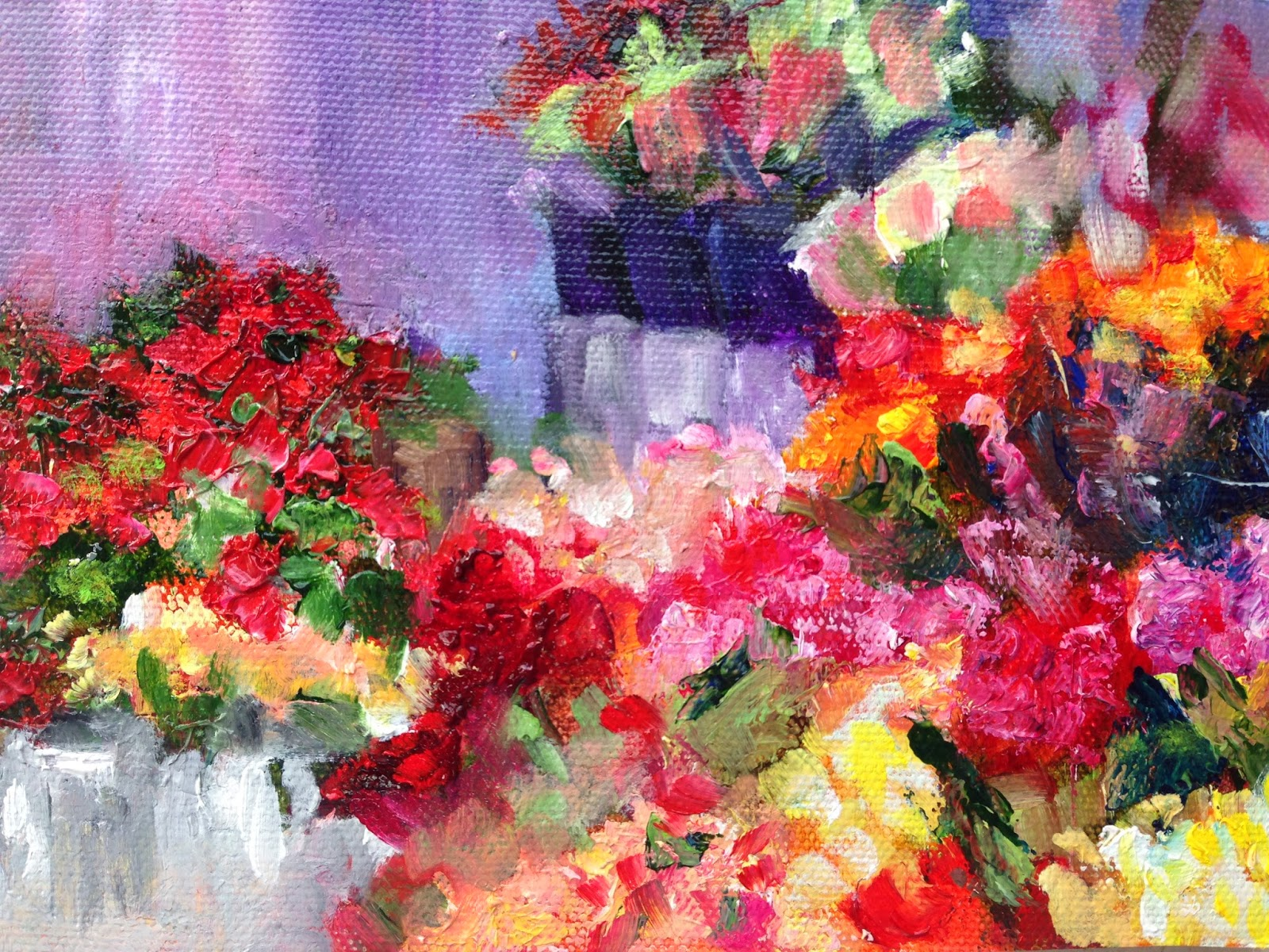 Carol hopper a painters journal flower shop vi these beautiful flower shop paintings izmirmasajfo