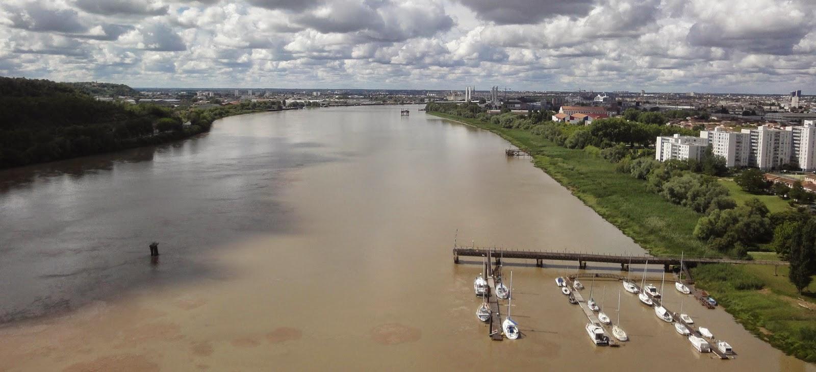 Ronde ali nor d 39 aquitaine juin 2014 - Le pont levant de bordeaux ...