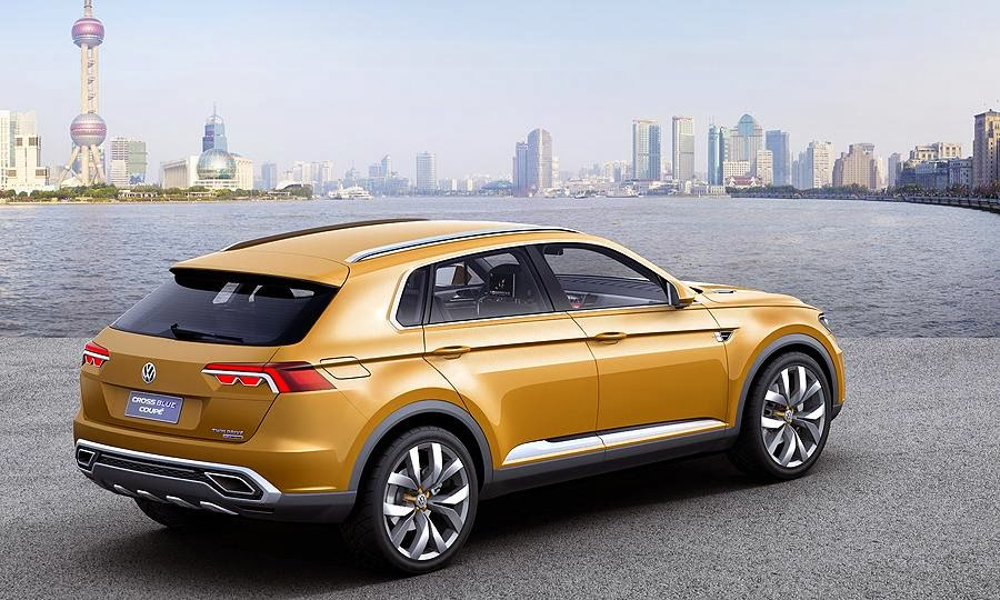 2016 Volkswagen CrossBlue Coupe ready to launch