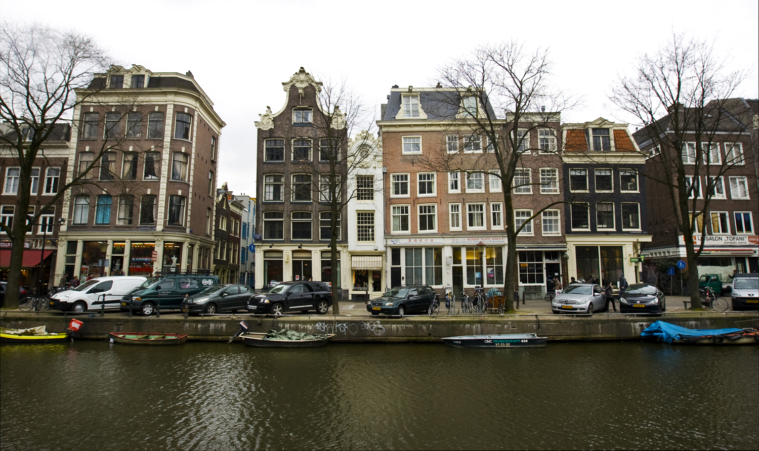 Thin House In Amsterdam