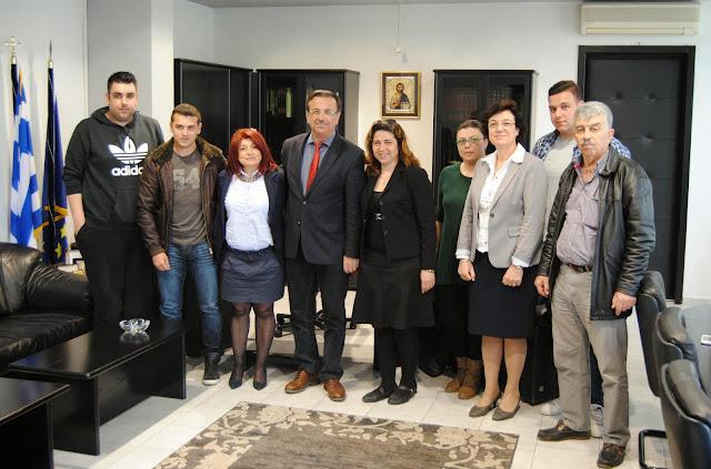Συνάντηση του Αντιπεριφερειάρχη Πέλλας με το νέο Δ.Σ. της Ευξείνου Λέσχης Αλμωπίας