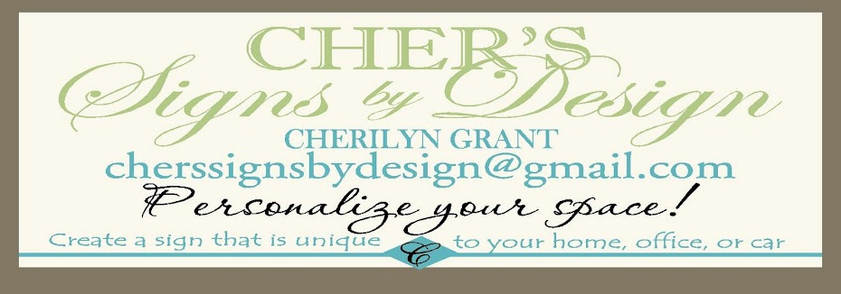 Cher's Signs by Design