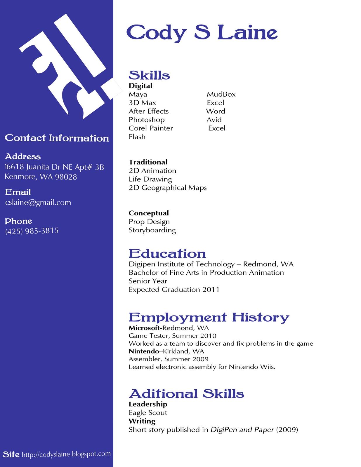 s s resume