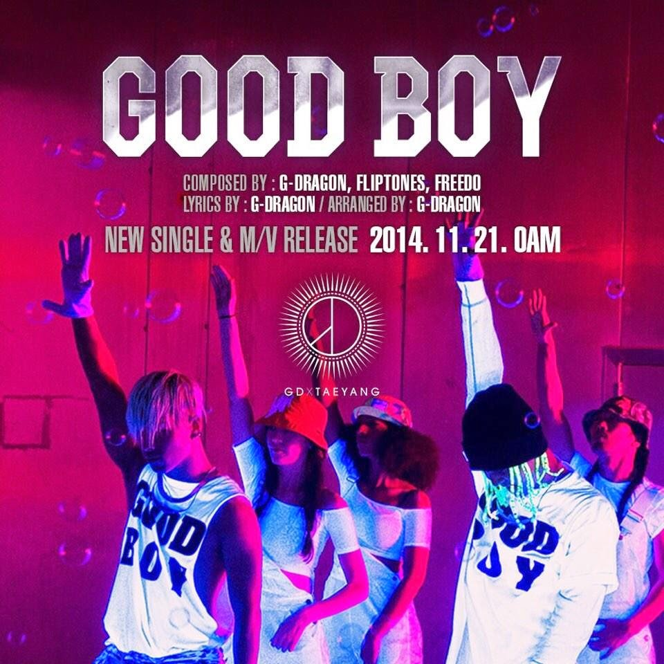 GDxTaeyang Good Boy Cover