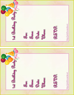 printable kids party invitations