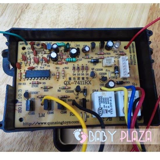 Bảng mạch điều khiển của xe hơi điện cho bé 1