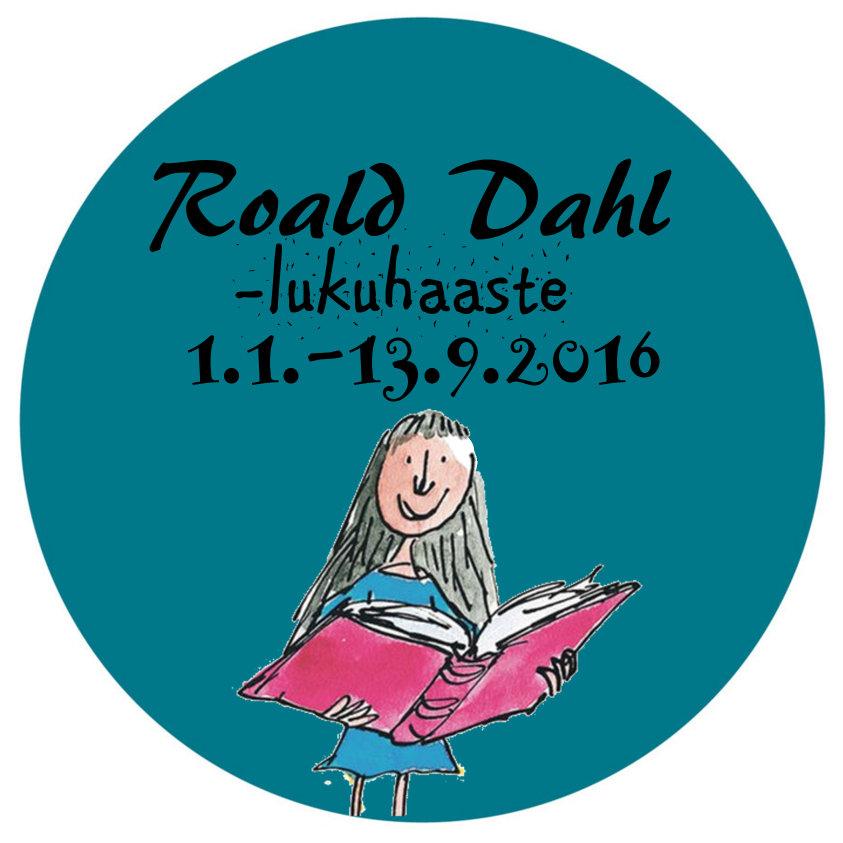 Roald Dahl -lukuhaaste (13.9. asti)