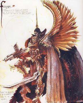 Fulgrim de John Blanche