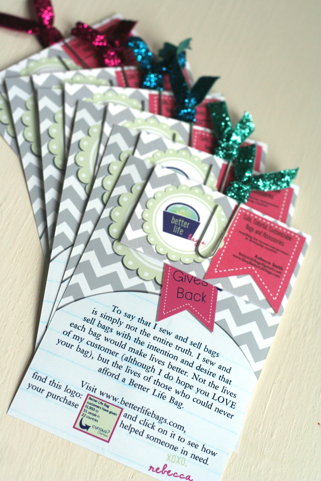 Better Life Blog Custom Business Cards from Vistaprint