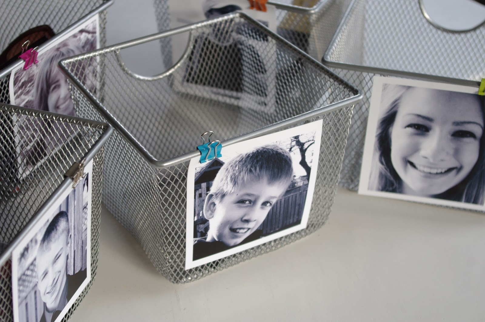 Entryway Organization | Personalized Storage Bins | personallyandrea.com