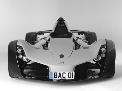 First US-built BAC Mono headed to Cars & Coffee