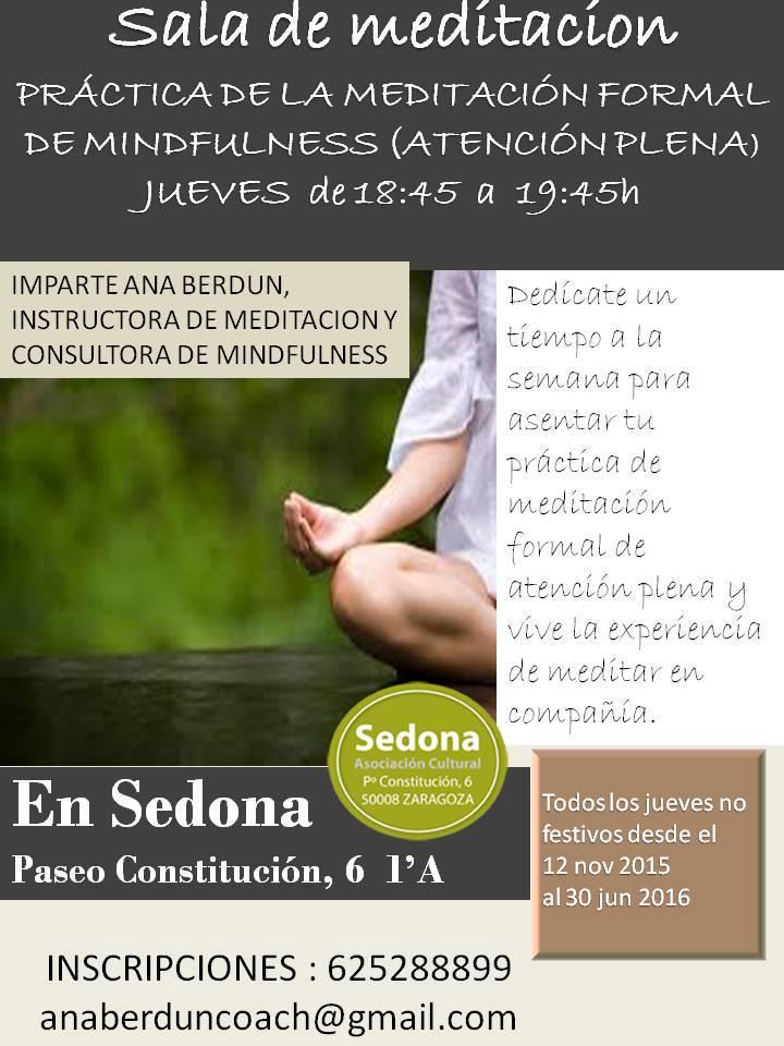 Sedona asociaci n cultural zaragoza actividades semana 41 - Salas de meditacion ...