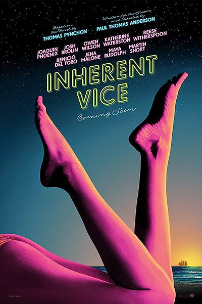 The poster for the film Inherent Vice