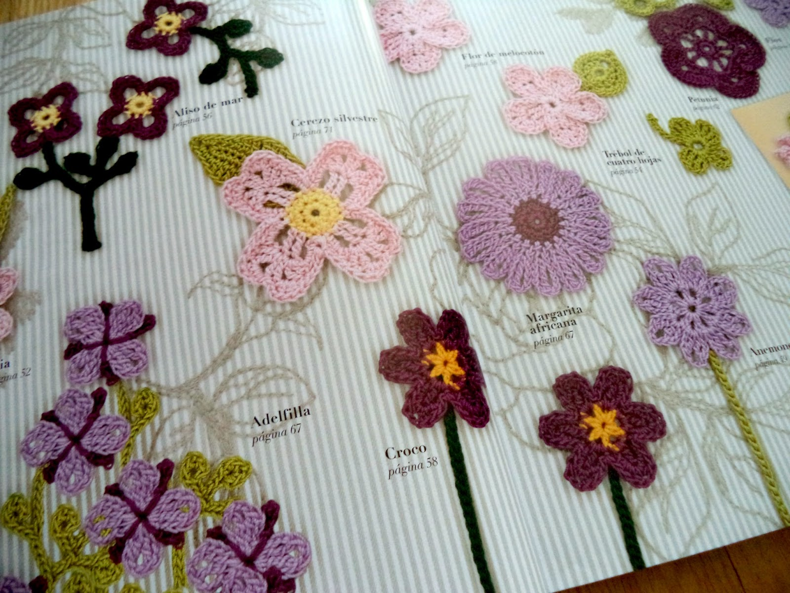 Happy ganchillo libros top para ganchilleras aprender a - Hacer flores de ganchillo ...