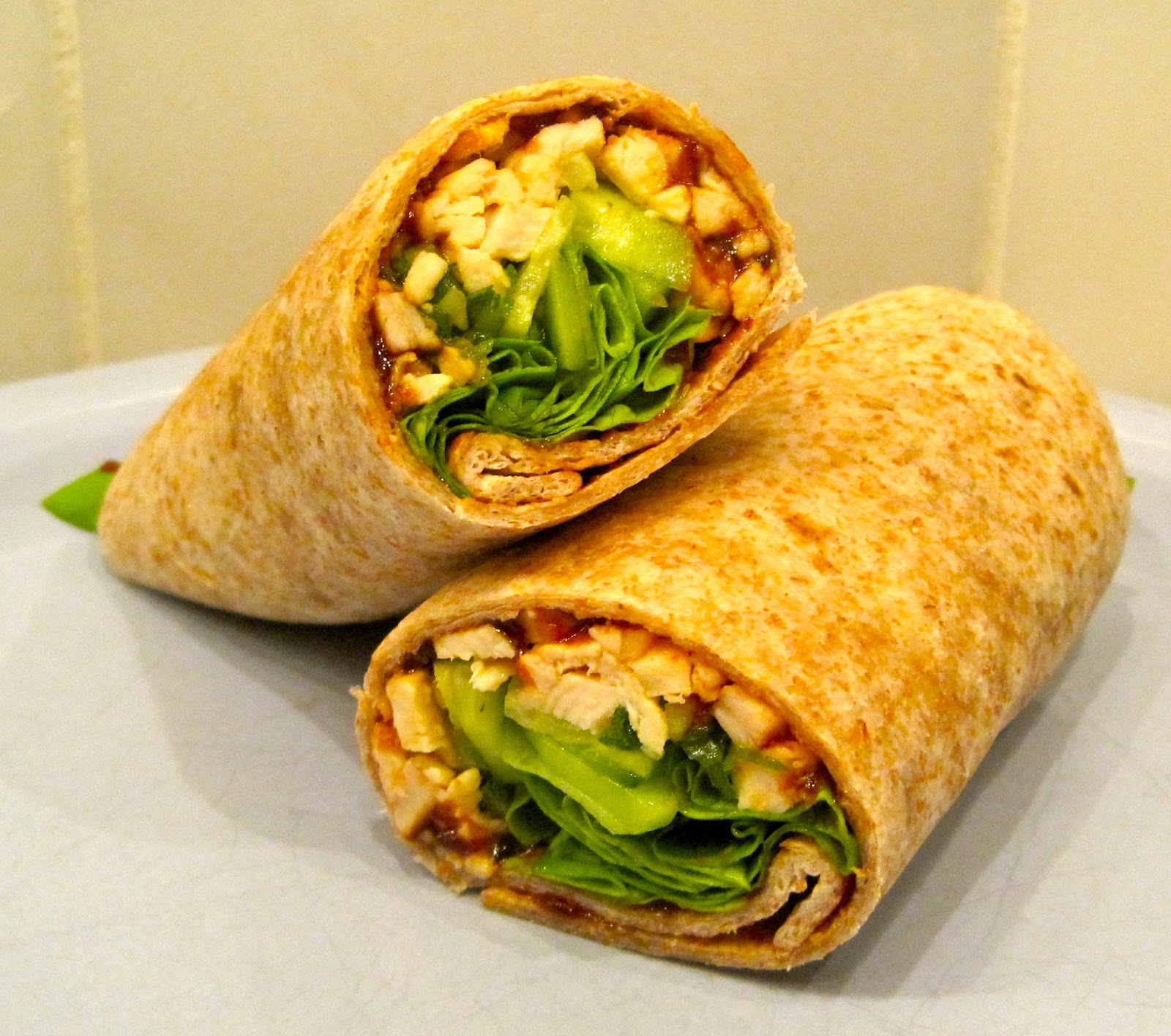 The Wooden Spoon Diaries: Asian Chicken Wraps