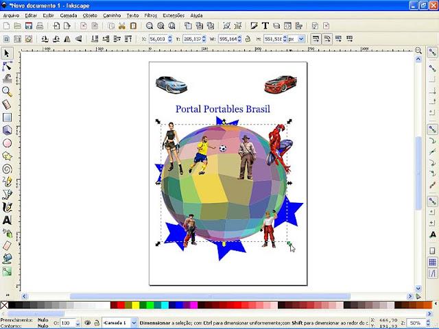 Inkscape 0.91 Portable