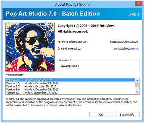 Pop Art Studio v7.0 Batch Edition x86 / x64