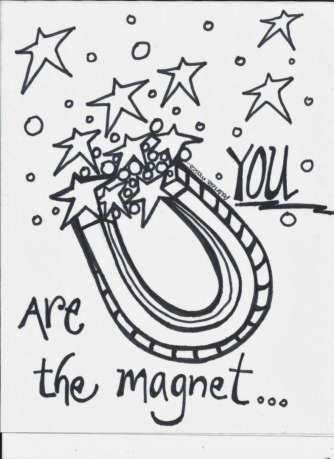 The Creative Playground Magnetcoloring Book Page