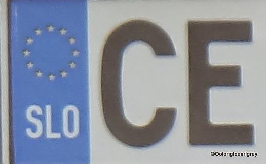 European Numberplate: Slovenia