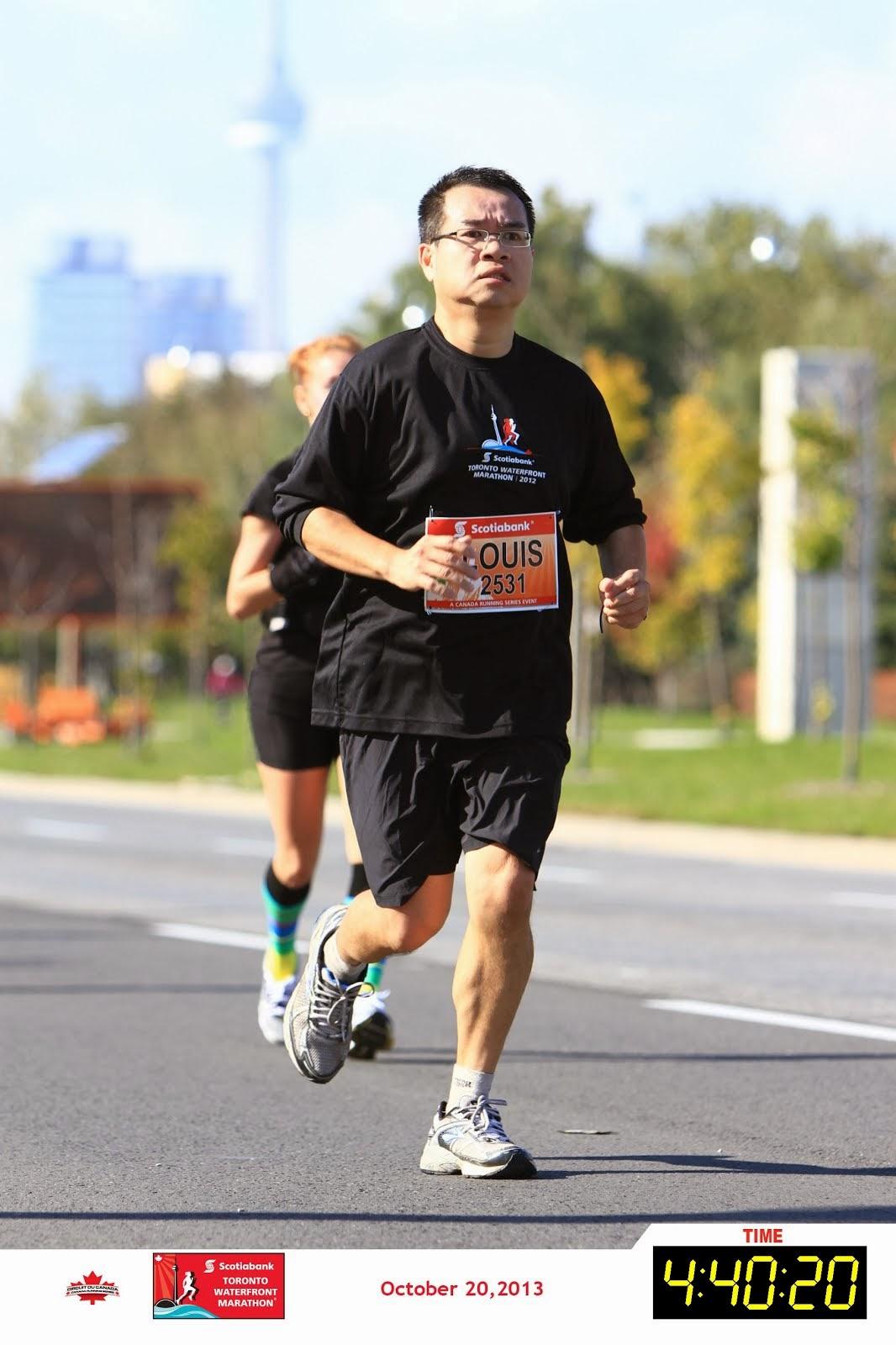 Toronto Waterfront Marathon 2013