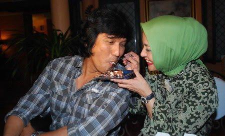 Kuliner Marissa Haque & Ikang Fawzi