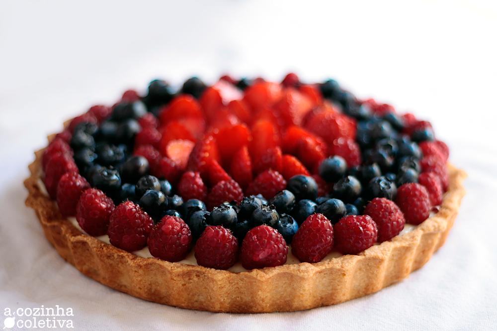Berry Tart, ou Torta de Frutos Silvestres