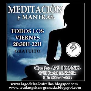 Meditación abierta y gratuita todos los viernes  A 20:30h de oct. a junio,  en el Centro Wudang
