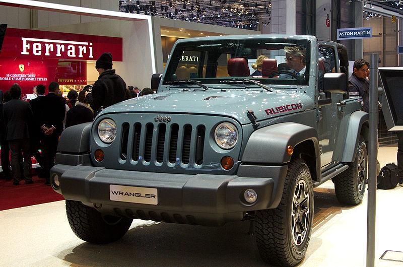 Jeep Wrangler available through Leo Muller Brisbane
