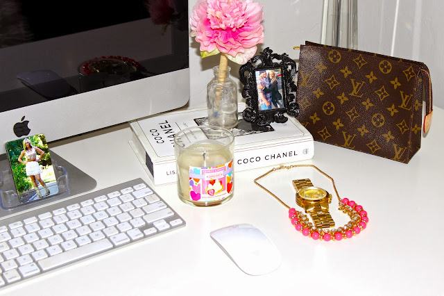 desk organization louis vuitton decor