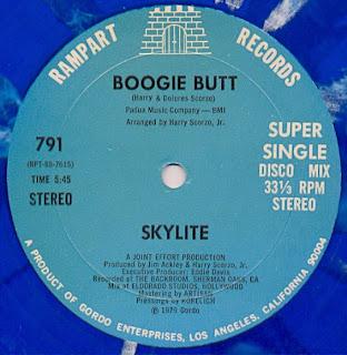 Skylite - Boogie Butt 1979 12 Inch