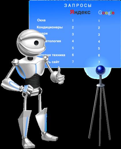 Панель оптимизатора, Панель вебмастера