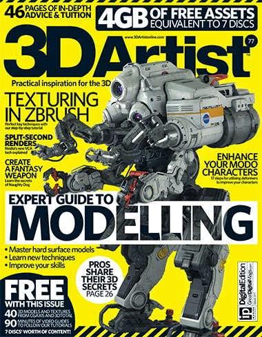 3D Artist Magazine Issue 77 2015